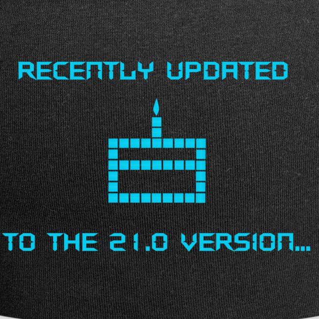 Recently updated to version 21.0