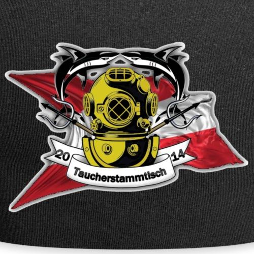 Taucherstammtisch Logo - Jersey-Beanie