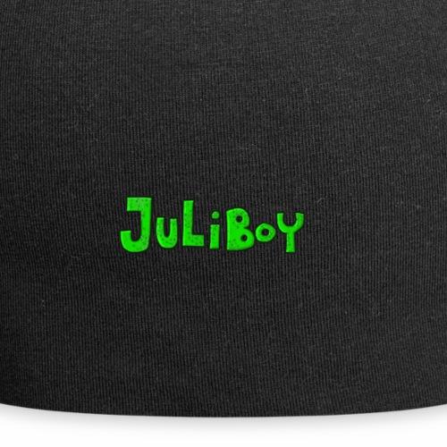 juliboy cartoon text - Jersey Beanie