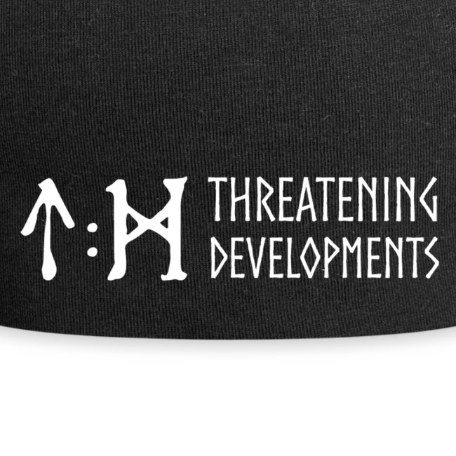 Threatening Developments White Logo