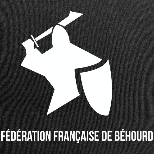 logo france behourd blanc png