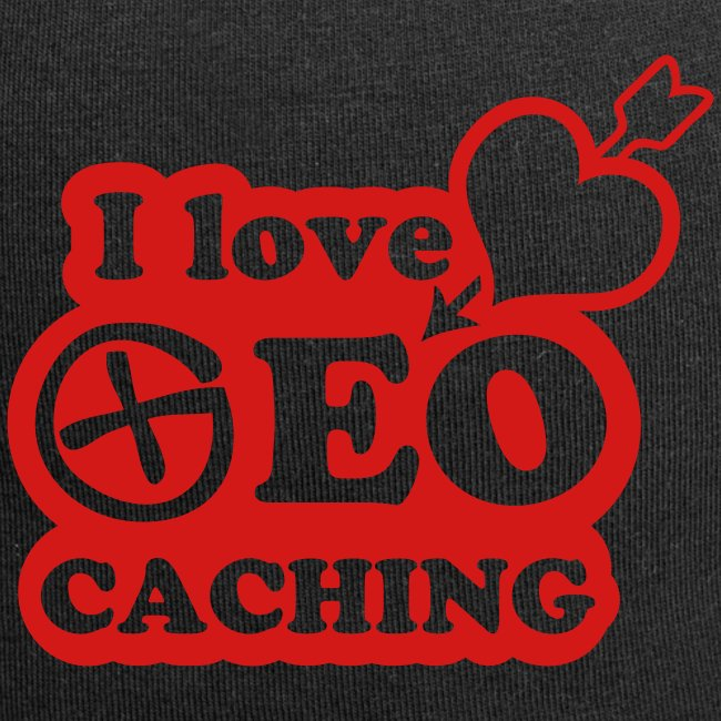 I love Geocaching - 1color - 2011