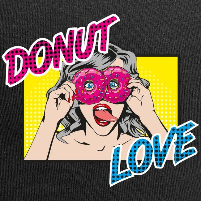 Popart - Donut Love - Zunge - Süßigkeit