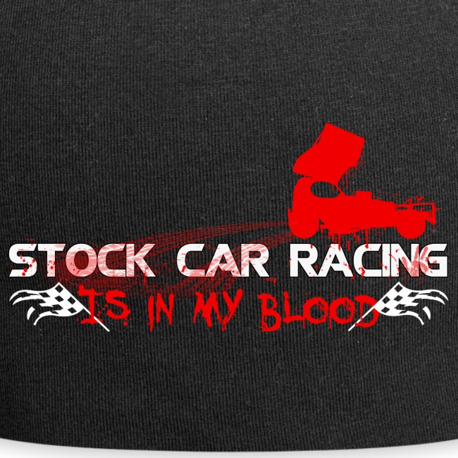 Stock car racing is in my blood