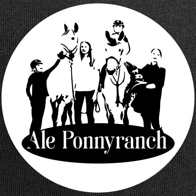 Ale Ponnyranch, vit bakgrund