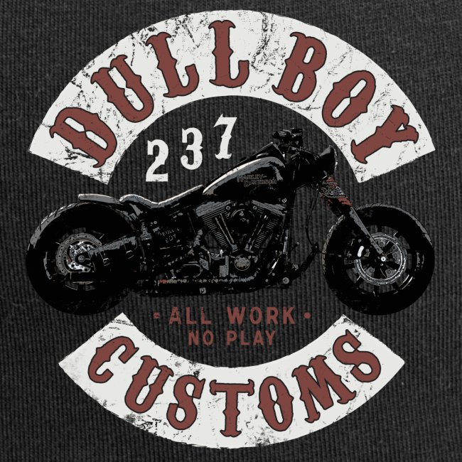 Dull Boy Customs patch