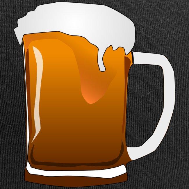 Cartoon Bier Geschenkidee Biermaß