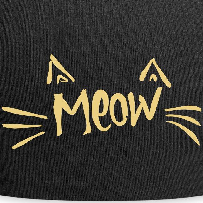 Vorschau: meow2 - Jersey-Beanie