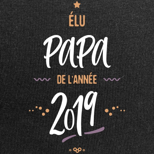 Elu papa de l'année 2019