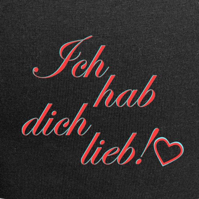 Lieb hab dich Talk:Ich hab'
