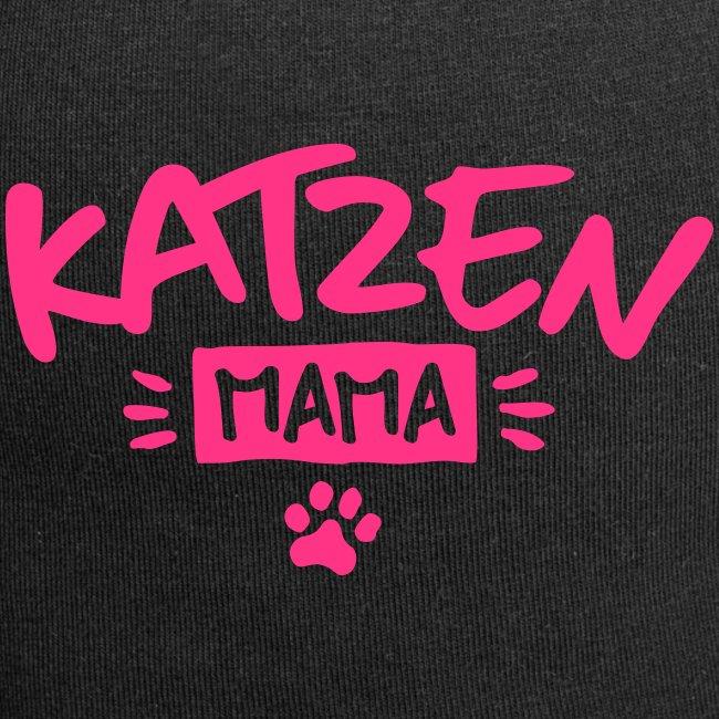 Vorschau: Katzen Mama - Jersey-Beanie