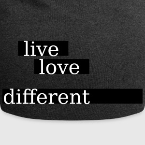 live love different - Jersey-Beanie