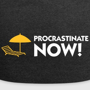 Procrastination Now! - Jersey Beanie