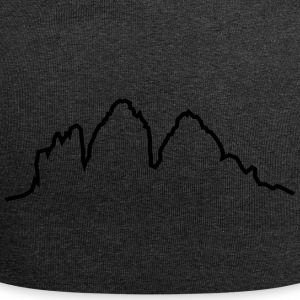 Dolomites 3 toppe - Jersey-Beanie