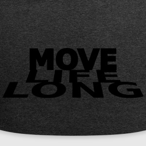Move life long - Jersey Beanie