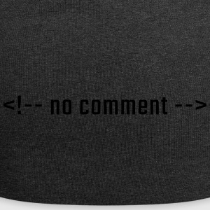 No comment - HTML lowercase - Jersey Beanie