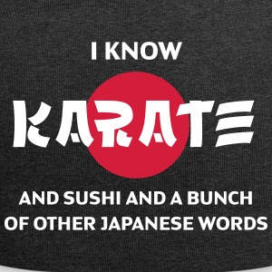 I Can Say Karate And Other Japanese Words! - Jersey Beanie