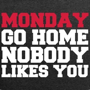 Monday nobody likes you - Jersey Beanie