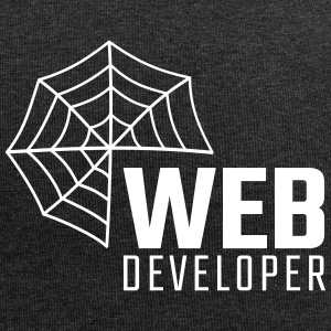 Web developer - Beanie in jersey