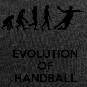Evolution des Handball - Jersey-Beanie