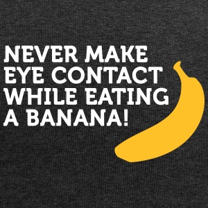 Don't Look At Me When Eating Banana - Jersey Beanie