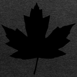 maple leaf - Jersey-beanie