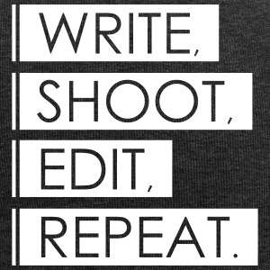Write, Shoot, Edit, Repeat - Jersey-Beanie