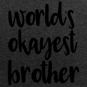 World´s okayest brother - Jersey-Beanie