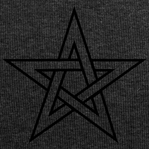 Pentagram, pentacle, magic, symbol, hexerei, - Jersey-Beanie