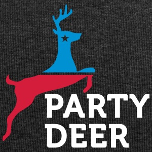 Political Party Animals: Reindeer - Jersey Beanie