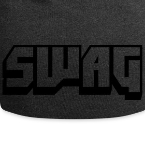 SWAG Transparent Black - Jersey Beanie