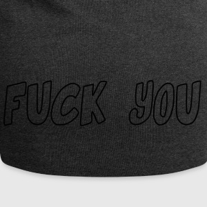 fuck_you - Jersey-beanie