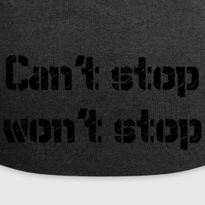 Can not stop plejer stoppe - Jersey-Beanie