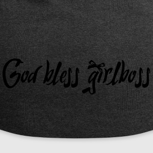 God bless girlboss - Jersey Beanie