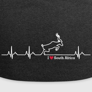 I love South Africa - Jersey Beanie