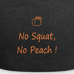 No squatting, no peach - Jersey Beanie