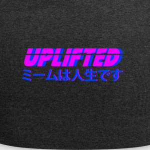 Uplifted with japanese lettering - Jersey Beanie
