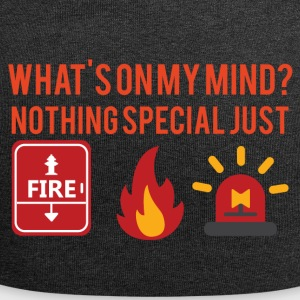 Fire Department: What's on my mind? Nothing special just - Jersey Beanie