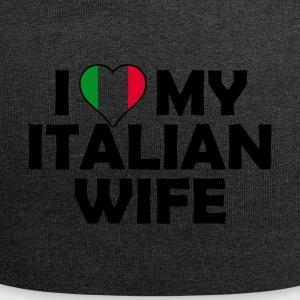 I Love my italian wife - Jersey Beanie