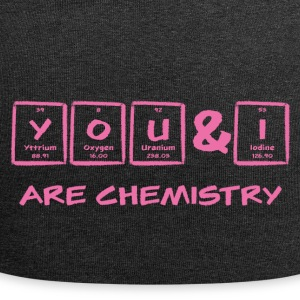 Periodic table: YOU & I are chemistry - Jersey Beanie
