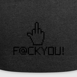 MIDDLE FINGER CURSOR - Jersey-Beanie