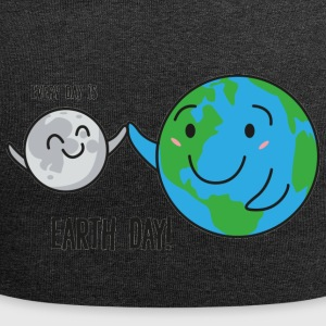 Earth Day / Tag der Erde: Every Day Is Earth Day! - Jersey-Beanie