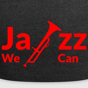 JAZZ WE CAN - rot - Jersey-Beanie