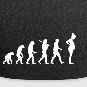 Evolution Pregnant! Child! Pregnancy! Infant! - Jersey Beanie