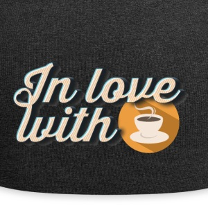 In love with coffee - Jersey Beanie