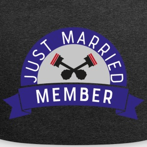 Biker just married - Jersey Beanie