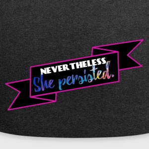 She persisted! - Jersey-Beanie