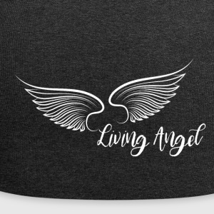 Living Angel white - Jersey-Beanie