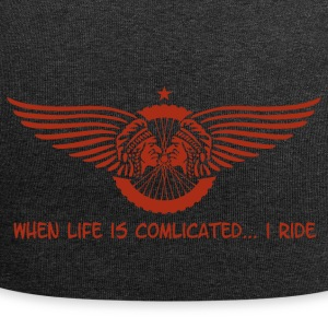 when life is complicated - Jersey-Beanie