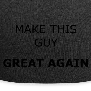 Maak deze GUY GREAT AGAIN - Jersey-Beanie